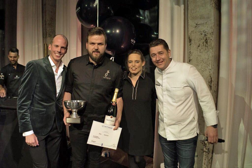 Jan Smink vertegenwoordigt Nederland op internationale kookwedstrijd in Parijs