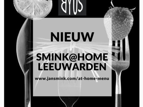 Nieuw afhaalpunt SMINK@HOME MENU in Leeuwarden