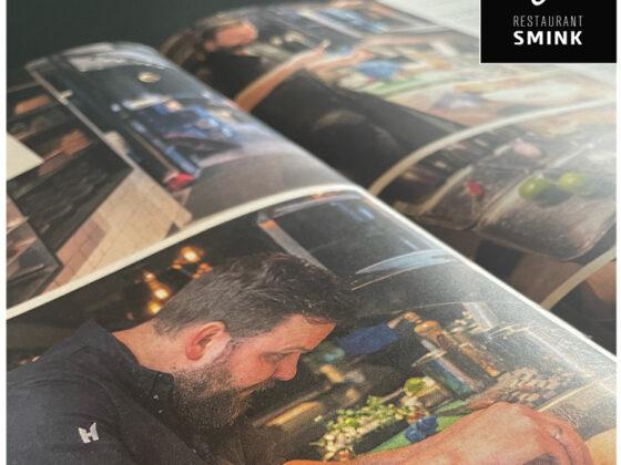 Jan Smink van Restaurant Smink in Wolvega artikel in de Volkskrant